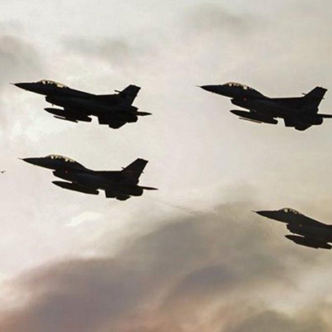 Εξαφανίστηκαν τα τουρκικά F-16 από το Αιγαίο - ΦΩΤΟ