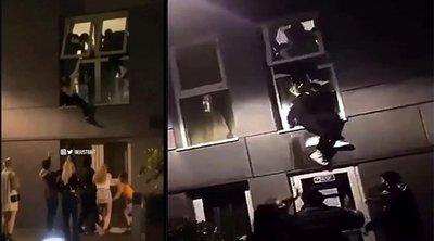 Βρετανία: «Ντου» σε φοιτητικό πάρτι - Οι φοιτητές πηδούσαν από τα παράθυρα - ΦΩΤΟ-ΒΙΝΤΕΟ