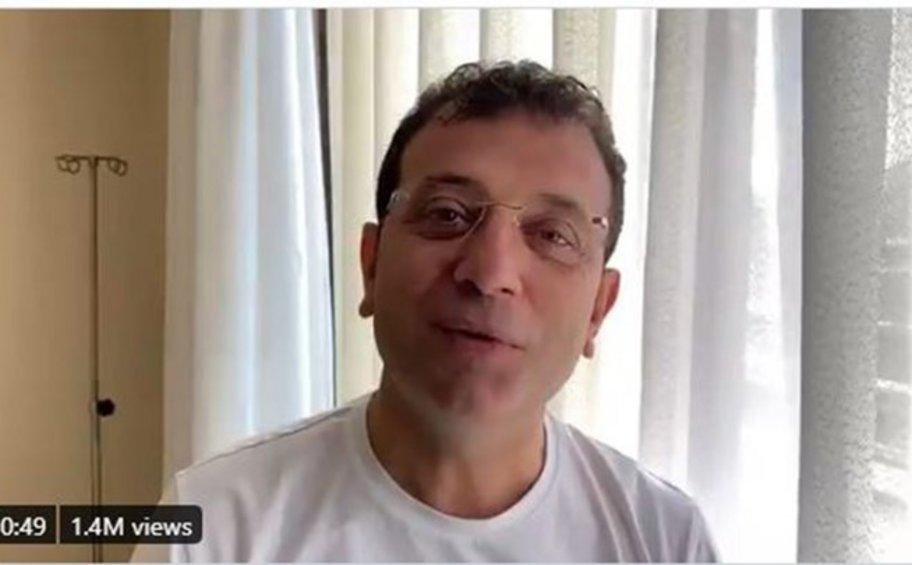 Στο νοσοκομείο με κορωνοϊό ο δήμαρχος της Κωνσταντινούπολης Εκρέμ Ιμάμογλου - ΒΙΝΤΕΟ