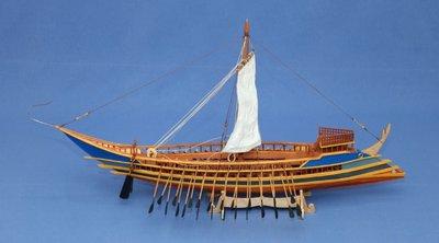 Η ναυπηγική ιστορία της Ελλάδας μέσα από διακόσια ομοιώματα πλοίων