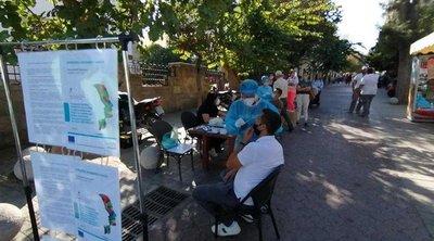 Κορωνοϊός: Rapid test σε πολίτες σε Χίο, Σάμο, Λάρισα, Ρόδο και Νάξο - Εντοπίστηκαν 24 κρούσματα