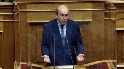 Χατζηδάκης: Εμείς μένουμε σταθεροί στη γραμμή της υπευθυνότητας - Ο ΣΥΡΙΖΑ μένει στα εσωκομματικά του προβλήματα