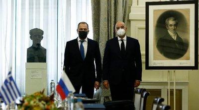 ΥΠΕΞ: Ικανοποίηση από την επίσκεψη Λαβρόφ στην Αθήνα - Σαφές μήνυμα για Ελλάδα και Τουρκία