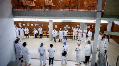 Ισπανία: Απεργούν οι γιατροί του δημοσίου, δηλώνουν εξαντλημένοι από τη μάχη με την πανδημία - Στο 85% η συμμετοχή στην απεργία