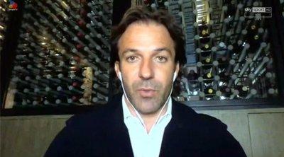 Ο Ντελ Πιέρο... συμβουλεύει τον Πίρλο