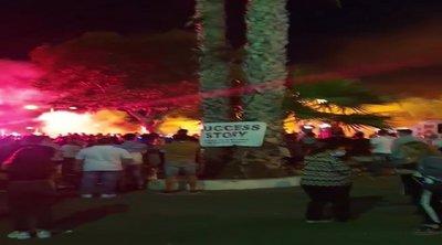 Επεισόδια στη Λεμεσό ανάμεσα σε διαδηλωτές και δυνάμεις της Αστυνομίας