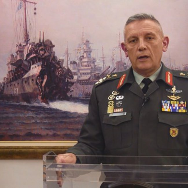 Μήνυμα στην Τουρκία από τον Αρχηγό ΓΕΕΘΑ στην Ημερήσια Διαταγή για την 28η Οκτωβρίου