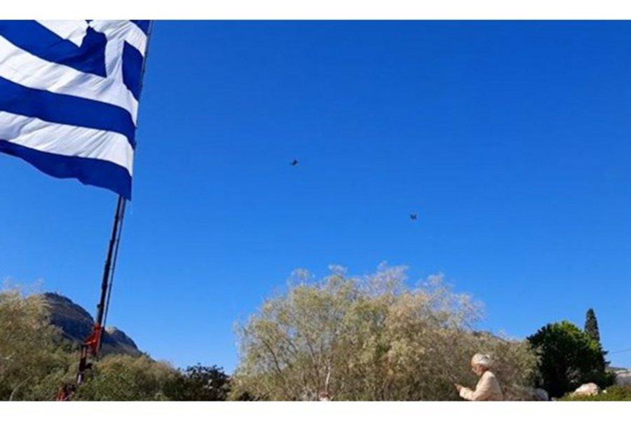 Καστελλόριζο: Πτήση - μήνυμα από ελληνικά F-16 πάνω από το ακριτικό νησί - ΒΙΝΤΕΟ