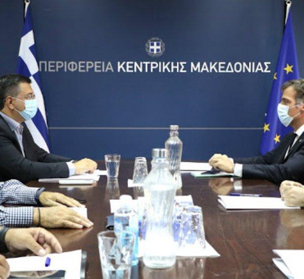 Συνάντηση Τζιτζικώστα - Αρκουμανέα αύριο στη Θεσσαλονίκη