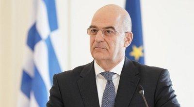 Ο Ν. Δένδιας ενημερώνει τους εκπροσώπους των κοινοβουλευτικών κομμάτων