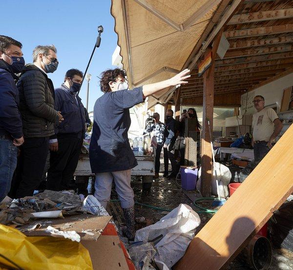Μητσοτάκης: Χρέος της Πολιτείας είναι να σταθεί δίπλα στη Σάμο