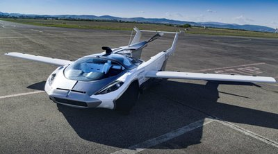 «AirCar»: Ενα βήμα πιο κοντά στα ιπτάμενα αυτοκίνητα - ΒΙΝΤΕΟ