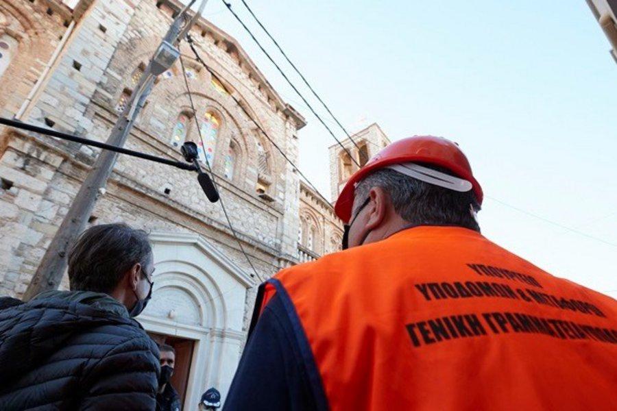 Κυρ. Μητσοτάκης: Θα ξαναχτυπήσουν οι καμπάνες στην εκκλησία της Παναγίας Θεοτόκου