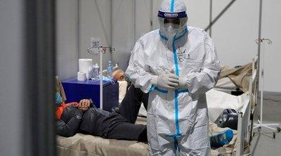 Σερβία-κορωνοϊός: 7.782 νέα κρούσματα και 69 θάνατοι - Εγκαινιάστηκε στο Βελιγράδι νέο νοσοκομείο 930 κλινών