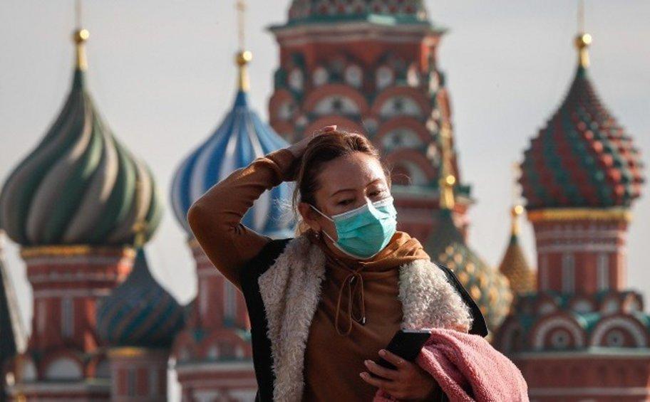 Ρωσία: Νέο ρεκόρ με με 9.120 κρούσματα κορωνοϊού καταγράφηκε σήμερα στην Μόσχα