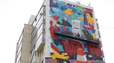 «Αγάπη για τη Φύση»: Μια γιγαντιαία τοιχογραφία του Βιτάλι Τσαρένκοφ