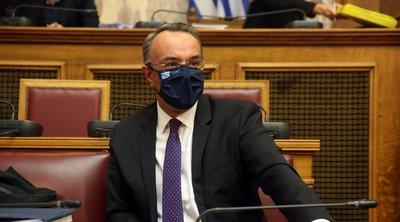 Σταϊκούρας: Η Ελλάδα έχει ήδη ξεκινήσει την υλοποίηση μεταρρυθμίσεων και επενδύσεων του σχεδίου ανάκαμψης - Τι είπε για τα «κόκκινα» δάνεια