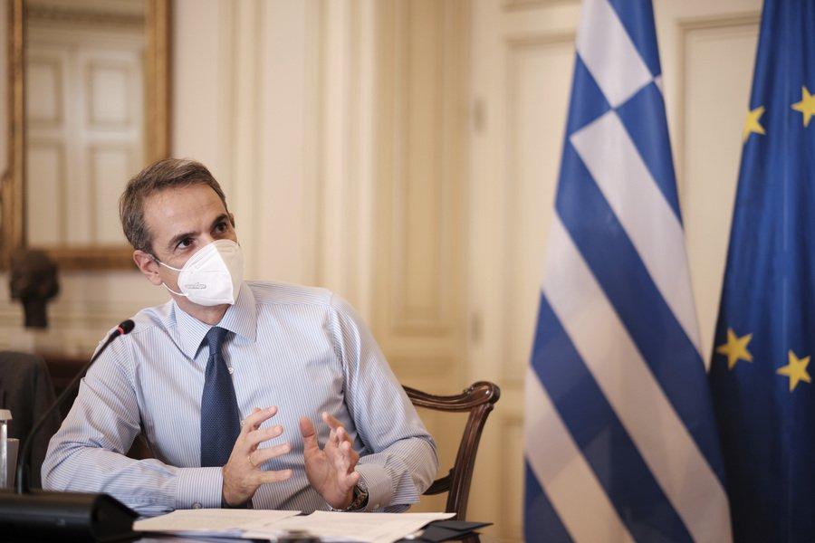 Ο Μητσοτάκης σε διαδικτυακή συζήτηση με τον Αντονι Φάουτσι για την αντιμετώπιση της πανδημίας