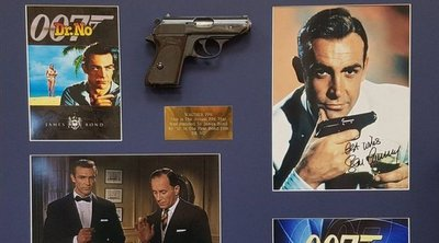 Το πιστόλι από την πρώτη ταινία «Τζέιμς Μποντ» πουλήθηκε 256.000 δολάρια