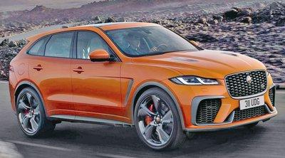 Νέα Jaguar F-Pace SVR: Βρετανική και... άγρια