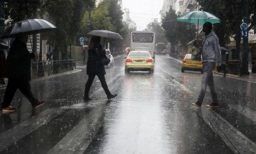 Βροχές και καταιγίδες αύριο σε πολλές περιοχές της χώρας - Αναλυτική πρόγνωση
