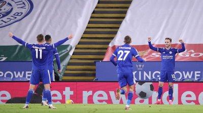 Premier League: Ανέβηκε 2η η Λέστερ - «Ανάσα» με δύσκολη νίκη η Τσέλσι - ΒΙΝΤΕΟ