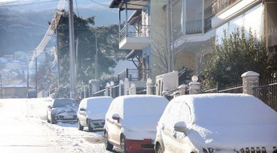 Κακοκαιρία «Λέανδρος»: Θερμοκρασίες έως -14 βαθμούς και την Κυριακή - Πού χρειάζονται αλυσίδες
