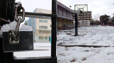 Ποια σχολεία θα μείνουν κλειστά την Τρίτη στην Αττική λόγω παγετού