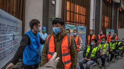 Κίνα: Οι αρχές ανακοίνωσαν ότι το 76% του πληθυσμού έχει λάβει πλήρεις δόσεις εμβολίων κατά της Covid-19