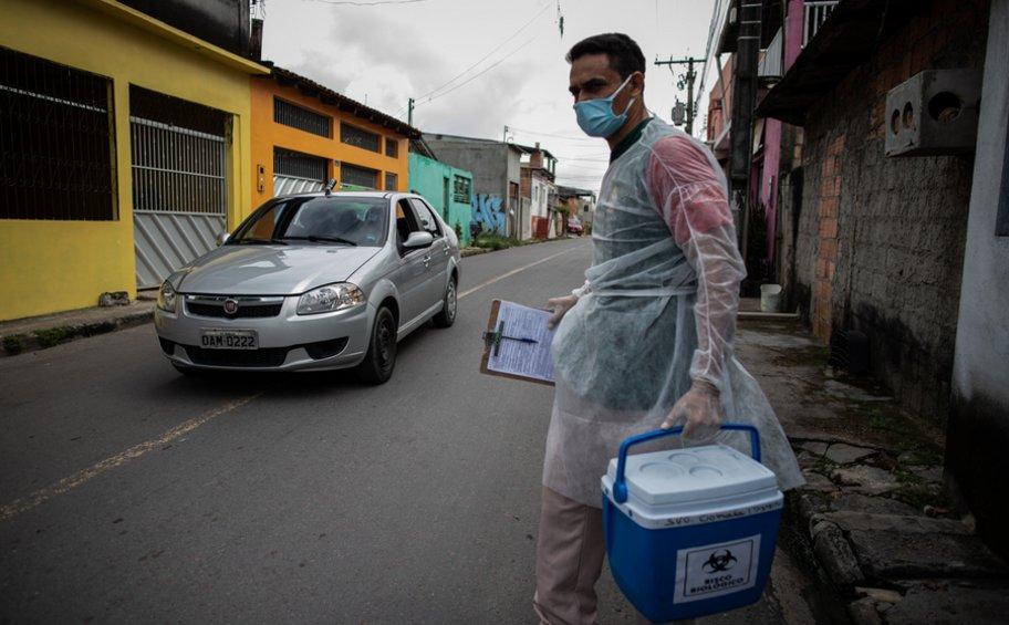 Βραζιλία: Τα 9 εκατομμύρια αγγίζουν τα κρούσματα κορωνοϊού και τις 220.000 οι νεκροί στη χώρα