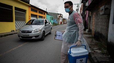 Βραζιλία-κορωνοϊός: 1.480 θάνατοι και σχεδόν 36.000 κρούσματα - Επικείμενη έρευνα της Γερουσίας αυξάνει την πίεση στον Μπολσονάρου