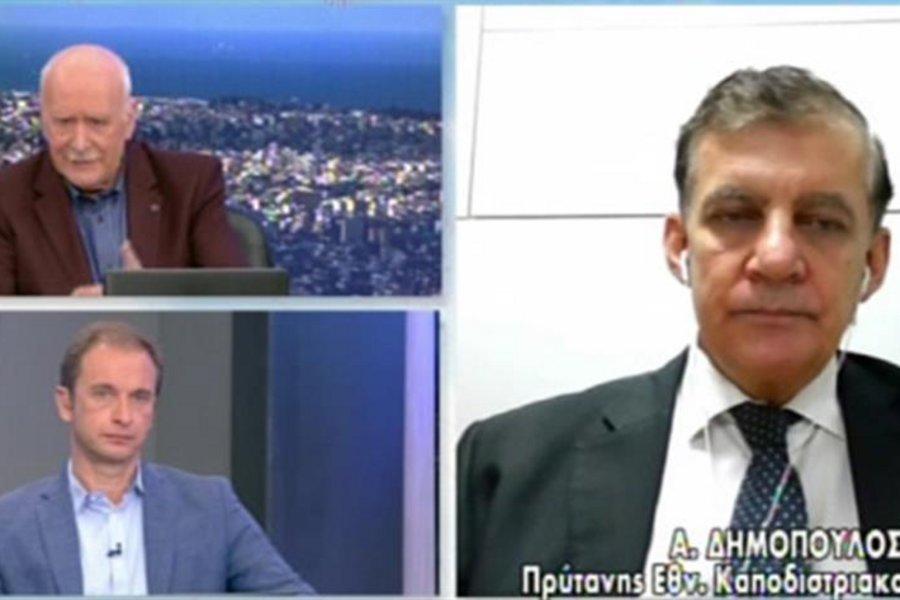 Κορωνοϊός-Δημόπουλος: Δεν είδαμε επιβάρυνση στα δημοτικά σχολεία - ΒΙΝΤΕΟ