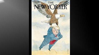 Το περιοδικό New Yorker αποχαιρετά τον Τραμπ μ' ένα καυστικό εξώφυλλο - ΦΩΤΟ