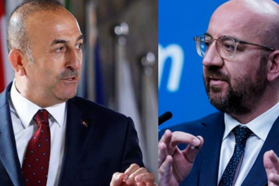 «Διατήρηση της αποκλιμάκωσης» από την Τουρκία ζήτησε ο Μισέλ από τον Τσαβούσογλου