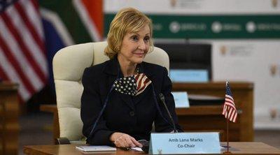 Η πρώην πρέσβειρα των ΗΠΑ στη Ν. Αφρική έλαβε 1 εκατ. δολάρια από το Στέιτ Ντιπάρτμεντ για εξοχικό στο οποίο δεν έμεινε ποτέ