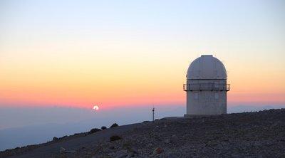 1o Σχολείο Αστροφυσικής Κρήτης από το ΙΤΕ