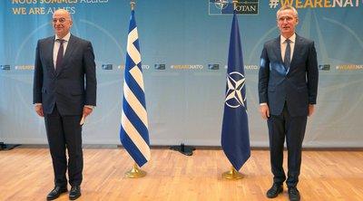 Η Αν. Μεσόγειος στο επίκεντρο της συνάντησης Ν. Δένδια με τον γγ του ΝΑΤΟ