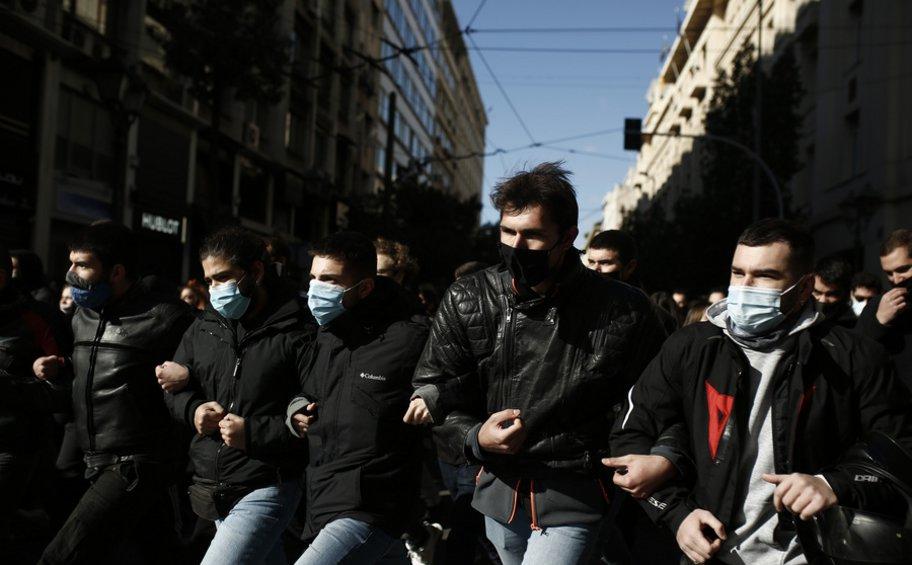 Ολοκληρώθηκε το πανεκπαιδευτικό συλλαλητήριο στο κέντρο της Αθήνας