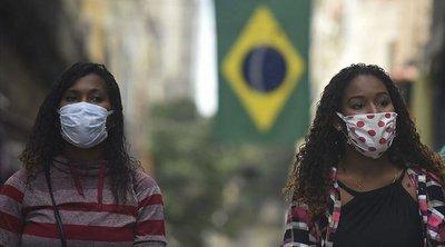 Βραζιλία-κορωνοϊός: 721 θάνατοι, πάνω από 34.000 κρούσματα σε 24 ώρες