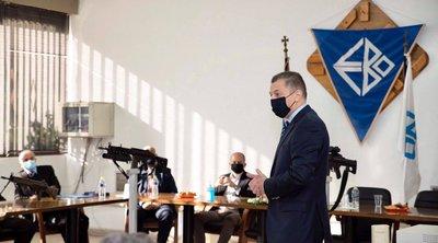 Επίσκεψη του Αλκ. Στεφανή στην έδρα των Ελληνικών Αμυντικών Συστημάτων στο Αίγιο