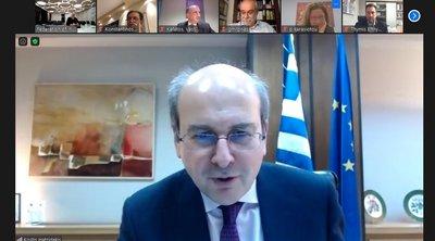 Τηλεδιάσκεψη Χατζηδάκη με τη διοίκηση του ΣΒΕ