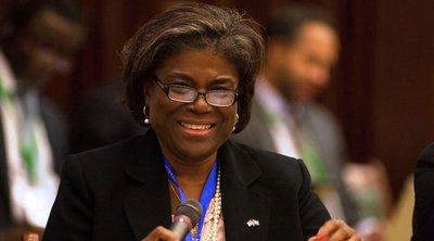«Δεν σιωπούμε, ούτε κι εσείς», δηλώνει στο ΣΑ η πρεσβευτής των ΗΠΑ στον ΟΗΕ για τις εχθροπραξίες μεταξύ Ισραήλ και Παλαιστινίων