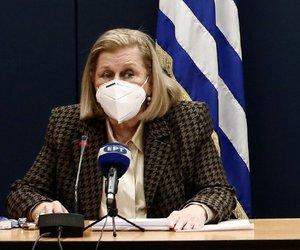 Θεοδωρίδου: Και στην Ελλάδα το εμβόλιο της AstraZeneca σε άνω των 65 ετών
