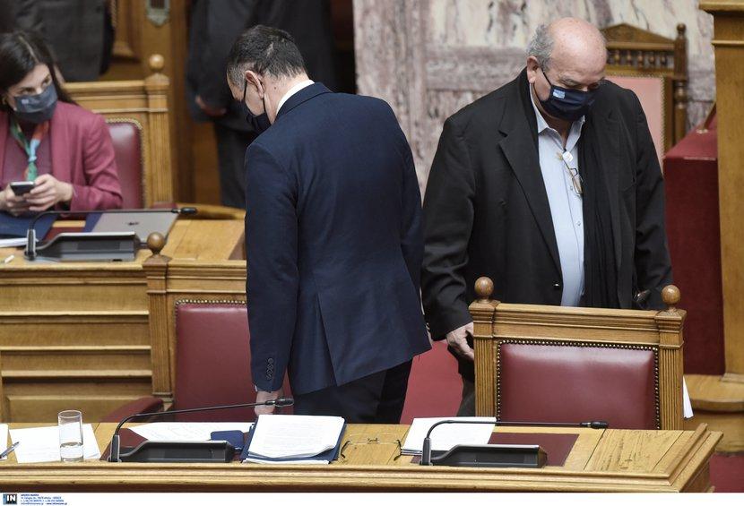 Βουλή: Σφοδρή σύγκρουση για Κουφοντίνα, Λιγνάδη - Γεραπετρίτης: Η Μενδώνη ζήτησε άμεσα την παραίτησή του