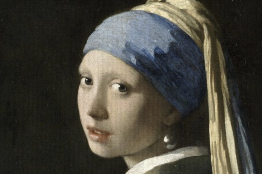 Πανόραμα 10 δισ. pixel του πίνακα «Το Κορίτσι με το Μαργαριταρένιο Σκουλαρίκι»