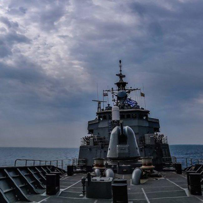 Ο ελληνικός Στόλος… πνίγει τη «Γαλάζια Πατρίδα» - ΦΩΤΟ