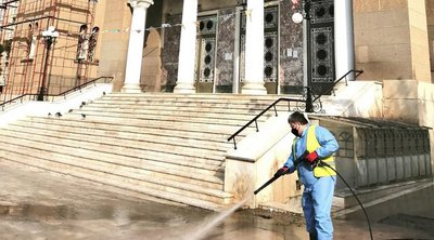 Επιχείρηση απολύμανσης και καθαριότητας στον Άγ. Παντελεήμονα - Μπακογιάννης: «Επιστροφή στις υπηρεσίες που στερήθηκαν οι κάτοικοι»