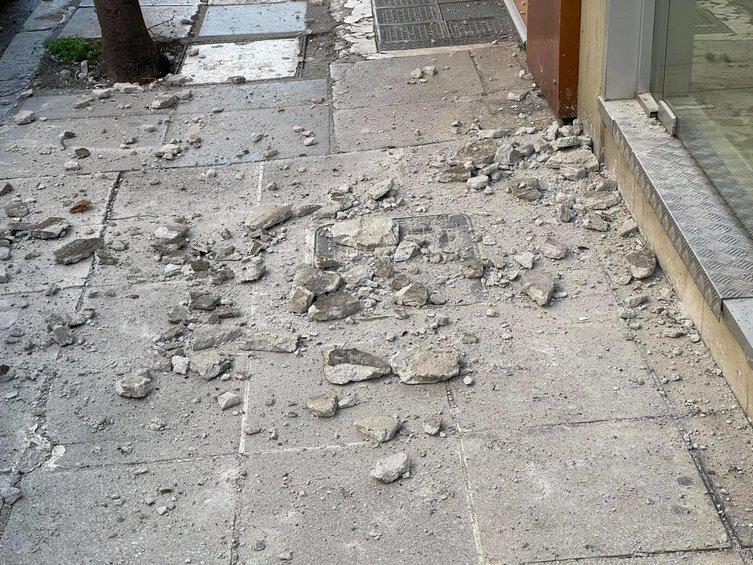 Ισχυρός σεισμός στην Ελασσόνα: Έπεσαν σοβάδες στο κέντρο της Λάρισας - ΦΩΤΟ