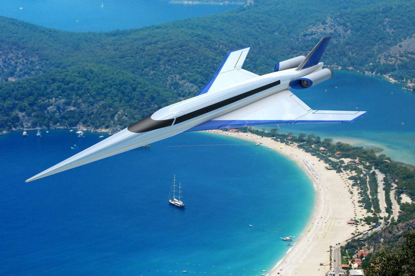 To υπερηχητικό αεροσκάφος που θα συνδέει Λονδίνο-Νέα Υόρκη σε 90 λεπτά