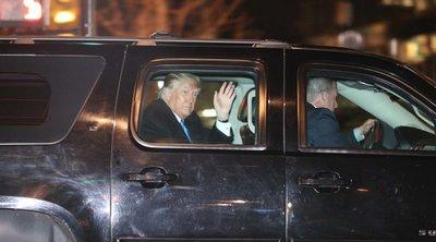 Ο Ντόναλντ Τραμπ επέστρεψε, διακριτικά, στη Νέα Υόρκη, για πρώτη φορά μετά την αποχώρησή του από τον Λευκό Οίκο